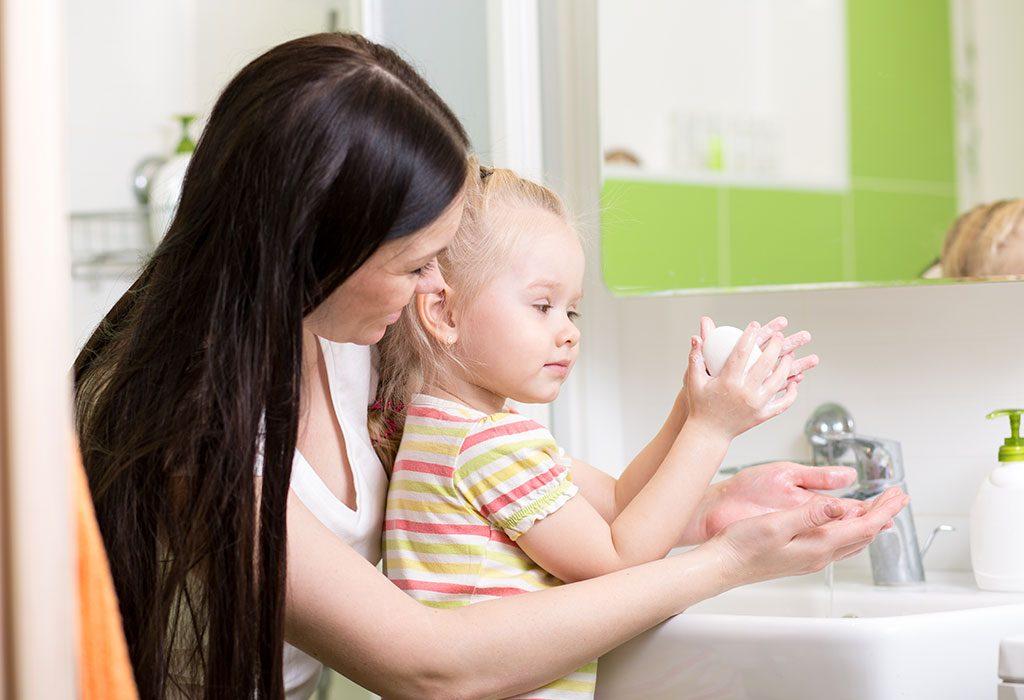 teach them the importance of handwashing