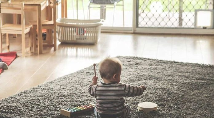 musical skills in a 16 months old