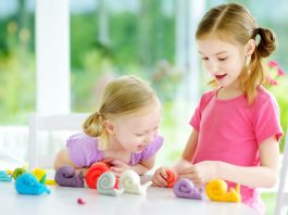 Play dough and your toddler
