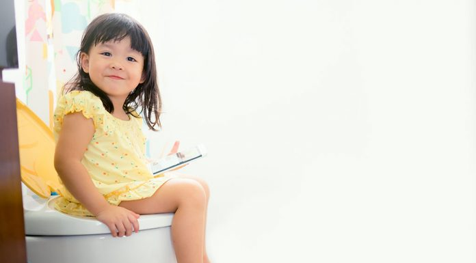 potty training in your 2 year old