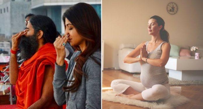 top 7 baba ramdev yoga asanas for pregnant women2