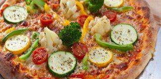 #ConsciousEating101 Veg Cauliflower Crust Pizza