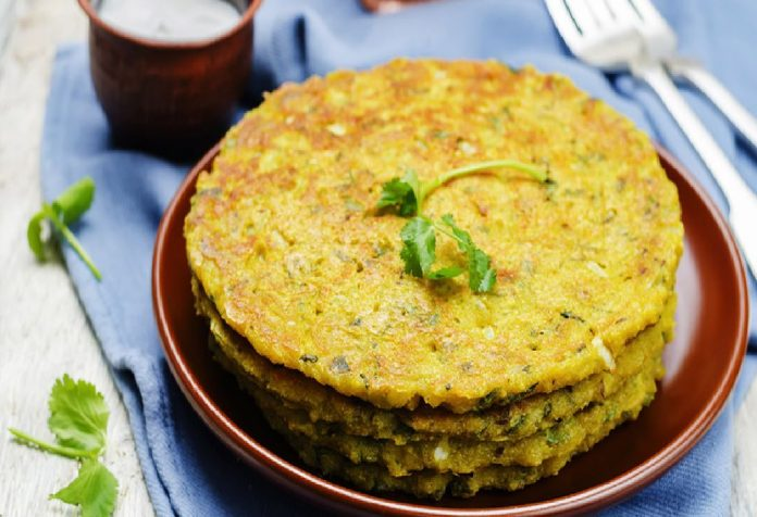 #ConsciousEating101 Spinach Lentil Pancakes
