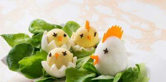 chick eggs recipe