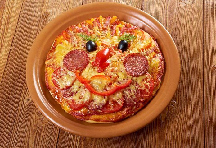 pizza smileys recipe