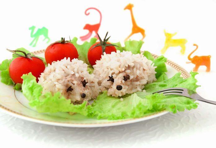caribbean rice hedgehogs recipe