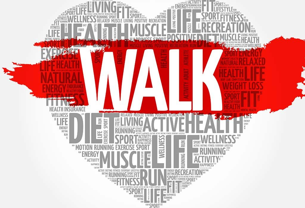 Walking is good for your heart