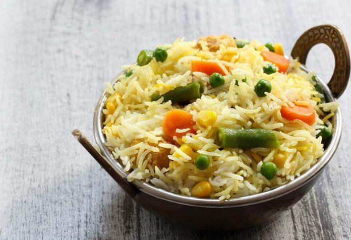 spinach and corn pulao recipe