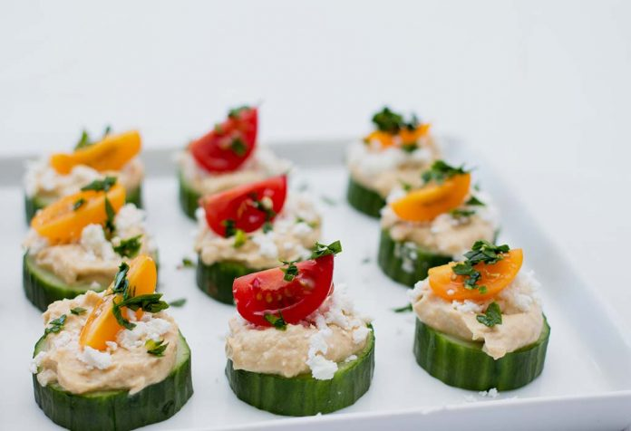 stuffed cucumber bites recipe