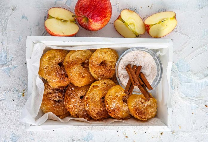 cinnamon apple rings recipe