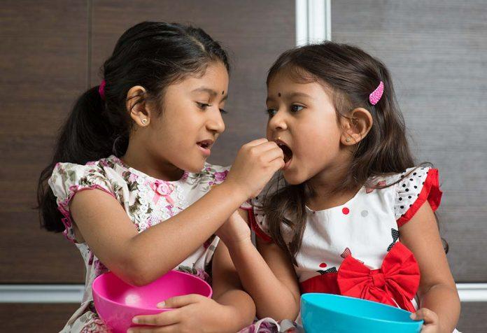 Teaching kids the joy of sharing