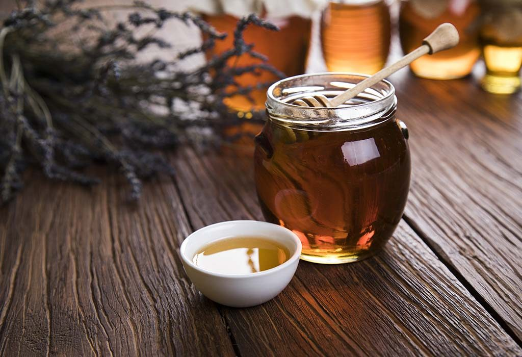 honey works wonders on cracked and dry skin