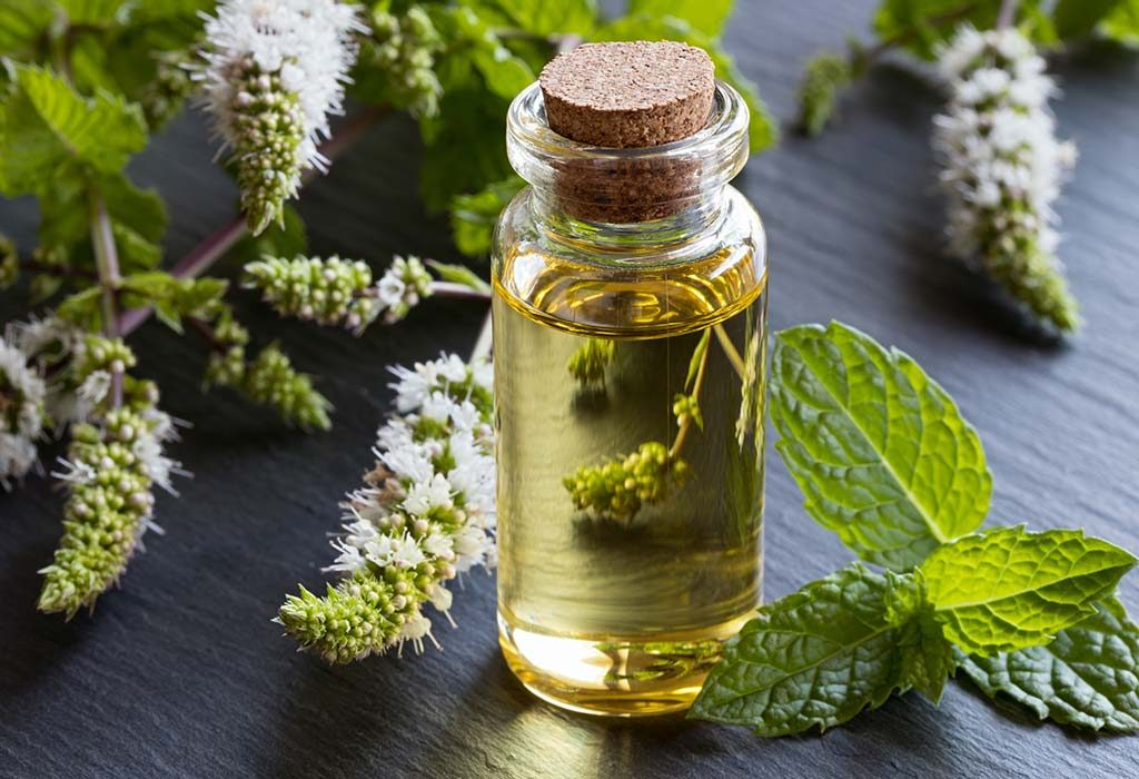 peppermint oil contains omega 3 fatty acids