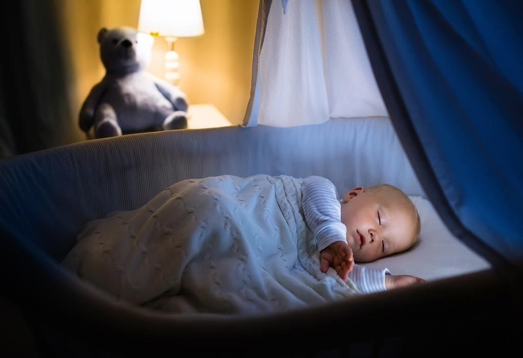 create a cozy atmosphere for your baby so he can sleep well