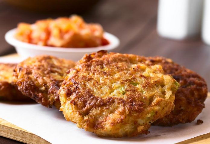 rice fritters recipe