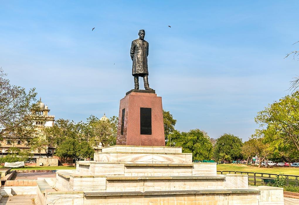 Statue in Nehru Garden