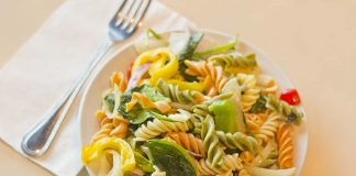 Tri Colour Layered Pasta Recipe