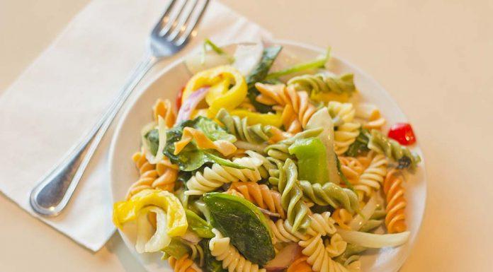 Tri Colour Layered Pasta Recipe