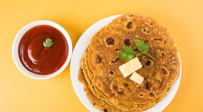 Moong Dal Parathas Recipe