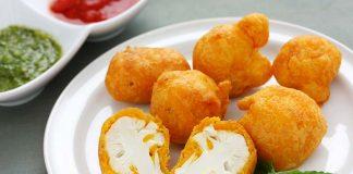cauliflower pakoras recipe
