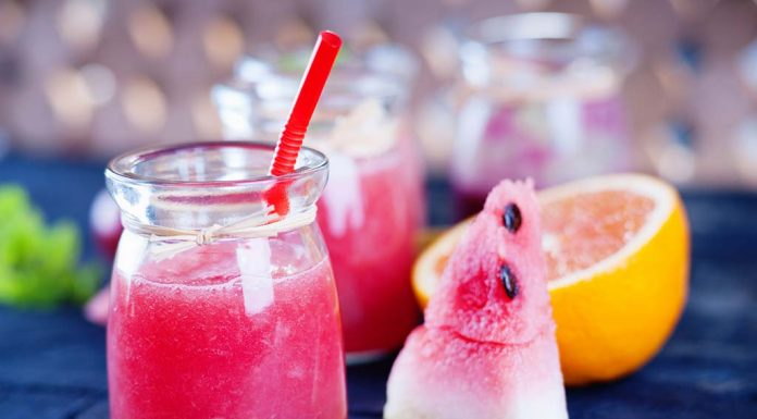 Watermelon Orange Cooler Recipe