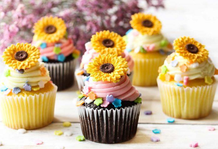 Sunflower Cupcakes Recipe