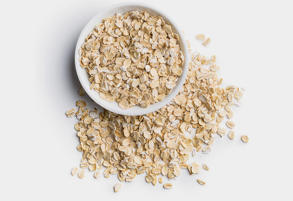 Oatmeal for hives