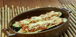 Cheesy Zucchini Boats Recipe