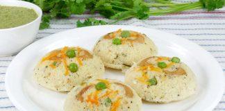 Easy Vegetable Idli Recipe