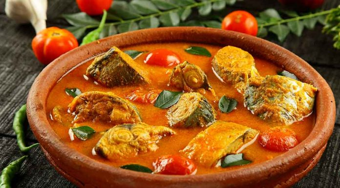 mild fish curry recipe
