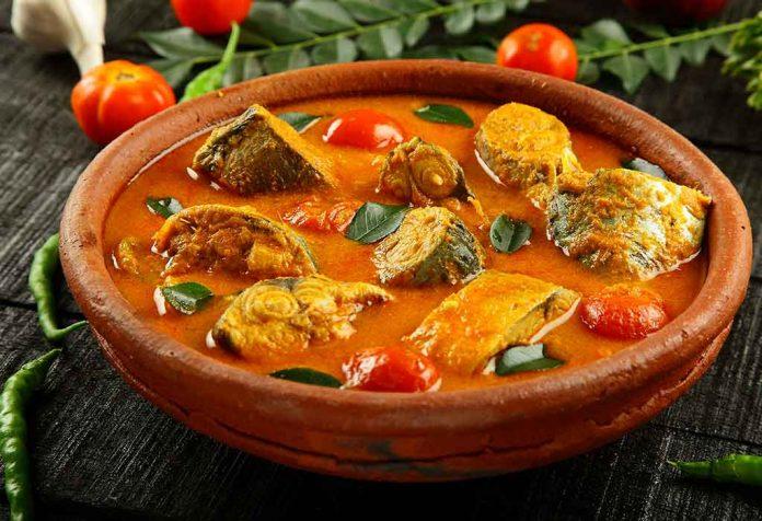 mild fish curry recipe