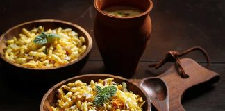 healthy bombay bhel recipe