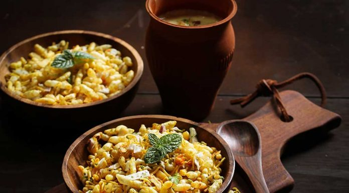 healthy bombay bhel recipe