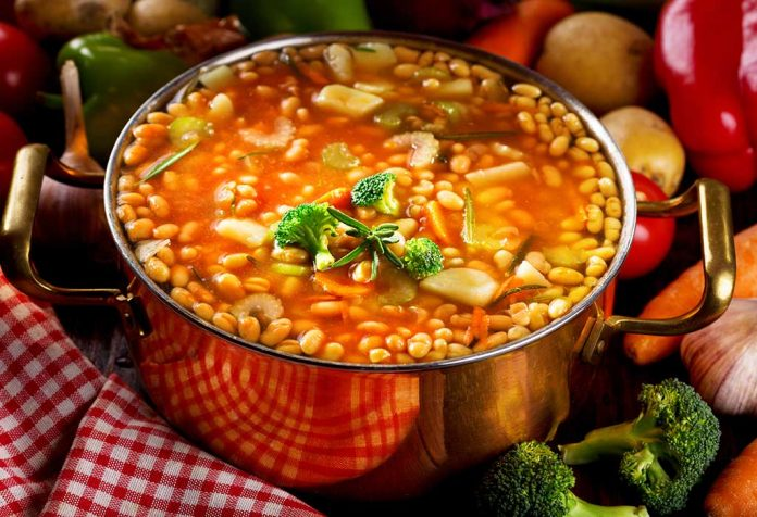 Bean soup with rosemary Recipe