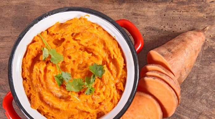 Sweet potato mash Recipe