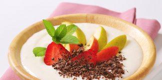 Semolina and smooth fruits Recipe