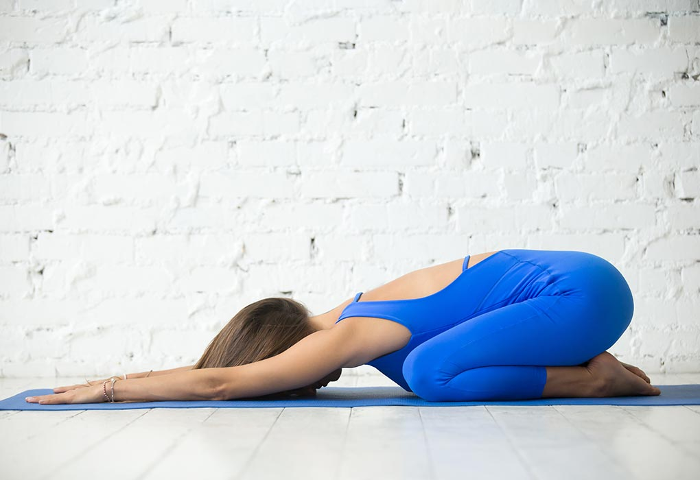 Warm Up Exercise - Balasana