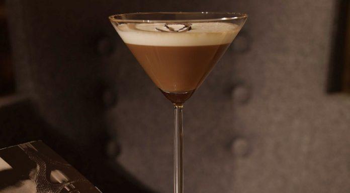 Chocolate Martini Mocktail