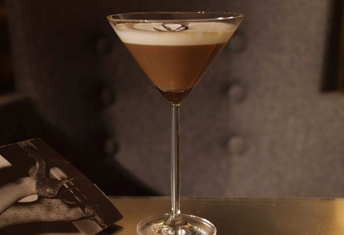 Chocolate Martini Mocktail
