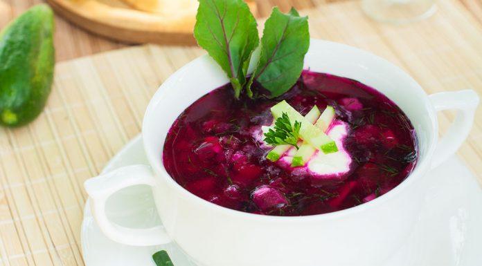 Cold Strawberry Gazpacho Recipe