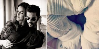 Neha Dhupia and Angad Bedi Share First Glimpse of Their Baby Girl 'Mehr'