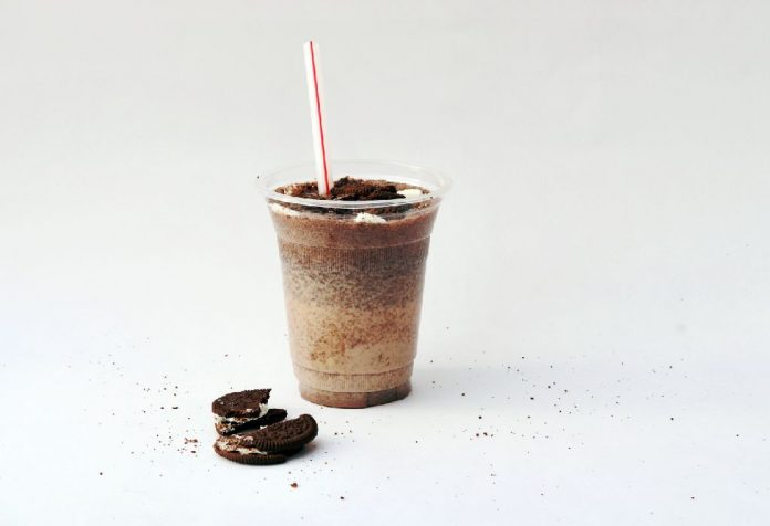 Oreo Chocolate Banana Smoothie