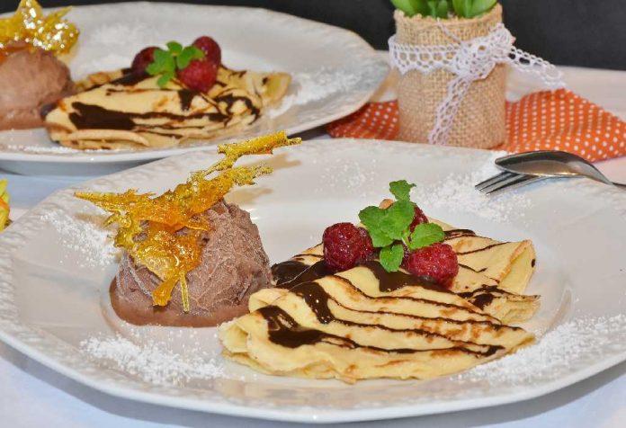 Chocolate Dosa/Pancakes