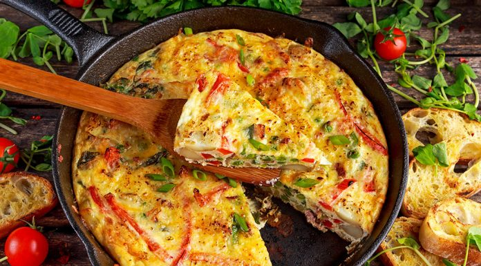 #HealthyEats Potato & Paprika Tortilla Recipe