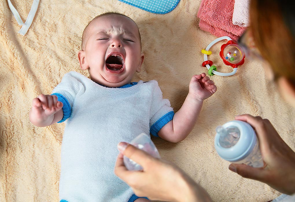 Why Does Baby Wakes Up Crying Hysterically?