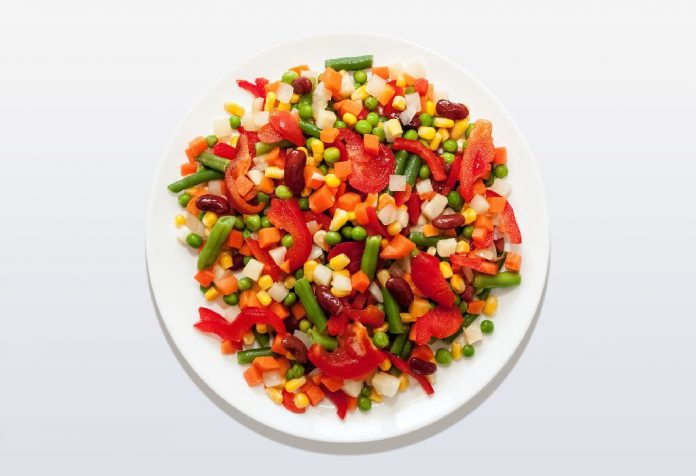 Mexican beans salad