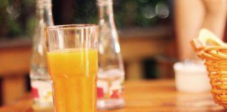 Mango and Passion Fruit Mocktail