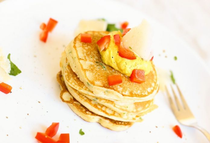 #SnackAttack # Yummy Cheese Pancake