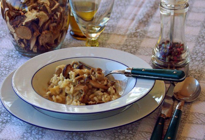 #ItalianLove Mushroom Risotto