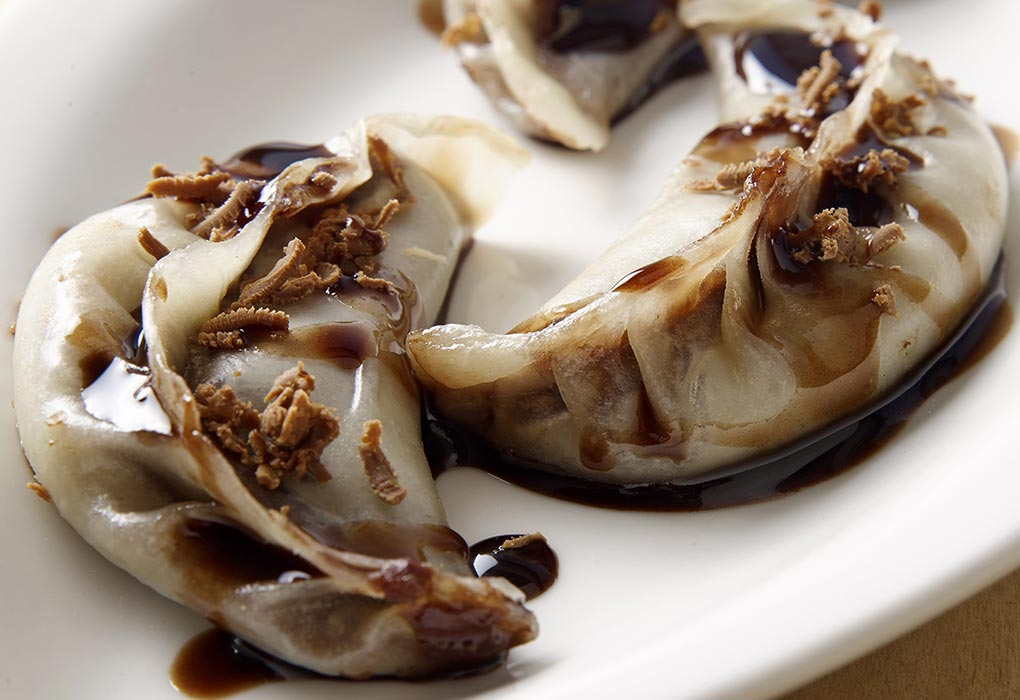 Chocolate momos recipe